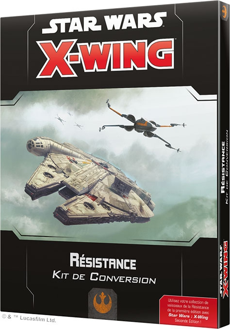 X-Wing 2.0 : Kit de Conversion Resistance