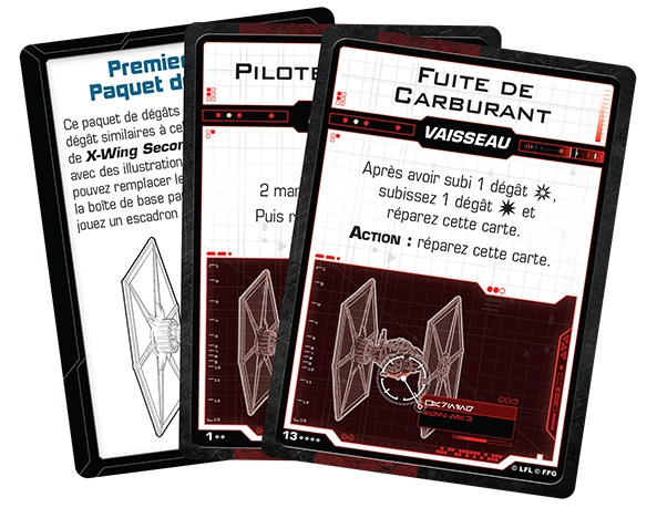 X-Wing 2.0 : Paquet de Dégâts Premier Ordre