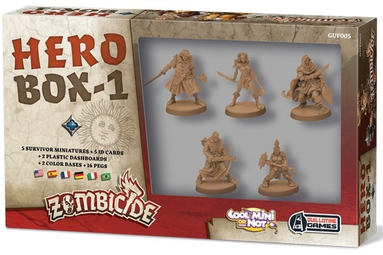 Zombicide - Black Plague : Hero Box #1