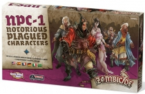 Zombicide - Black Plague : Notorious Pagued Characters #1
