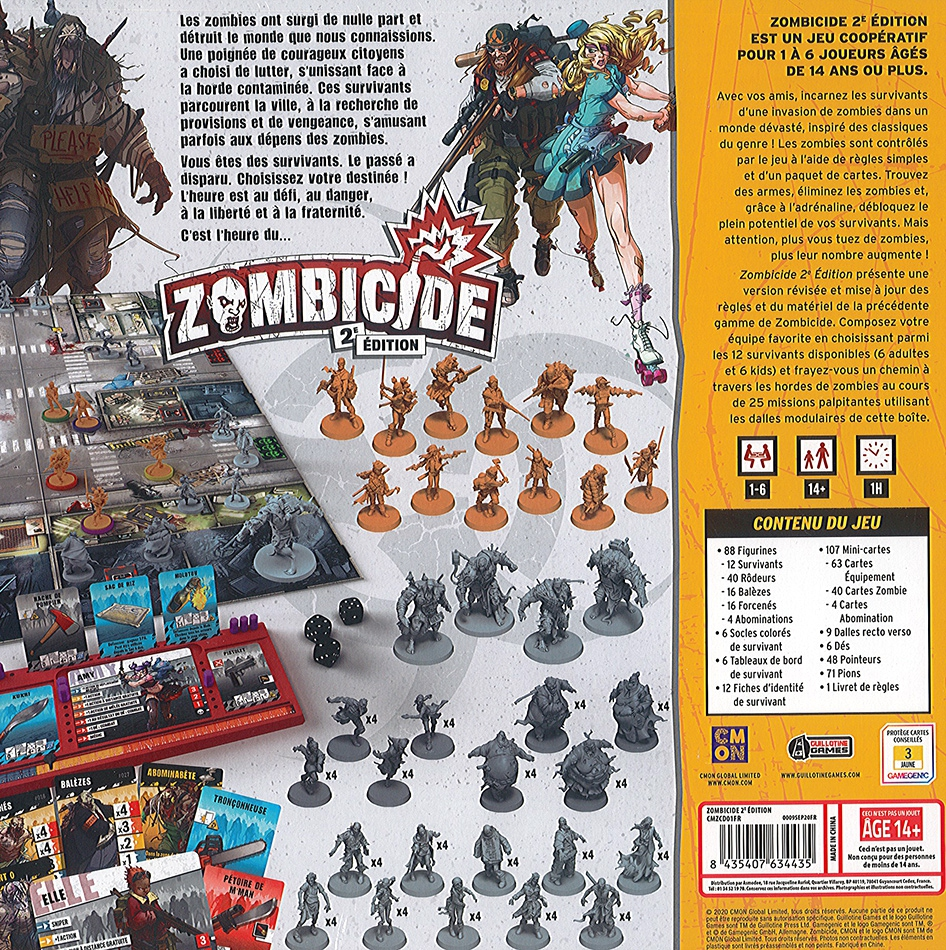 Zombicide (2ème Édition) + Bonus Danny Trejo