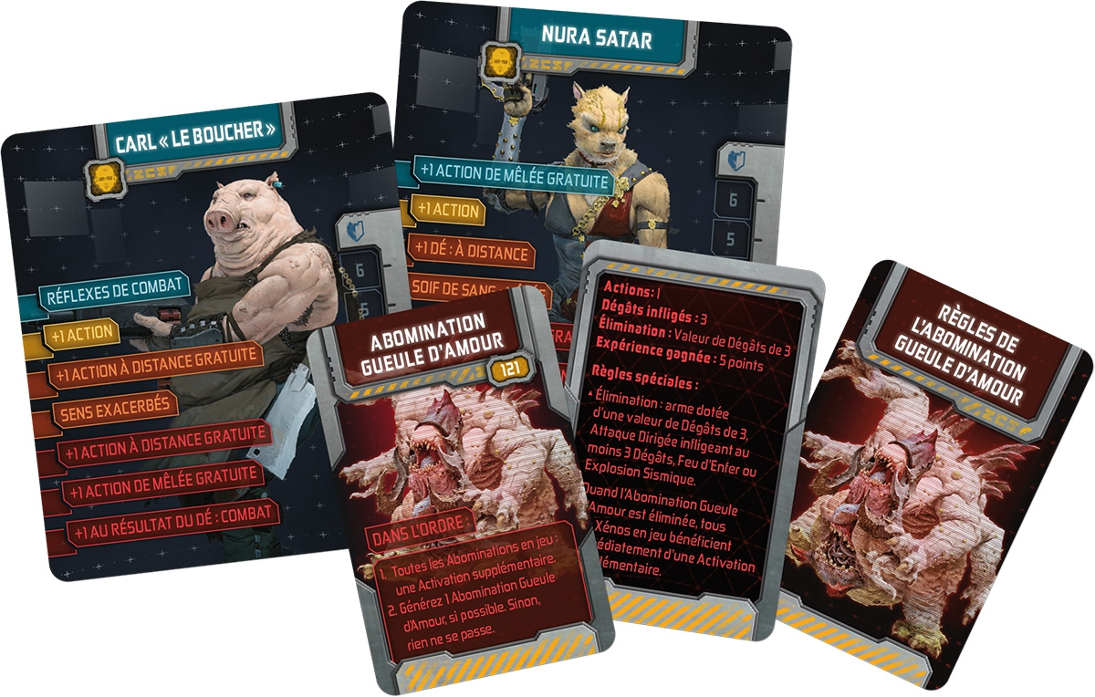 Zombicide Invader : Survivors of the Galaxy